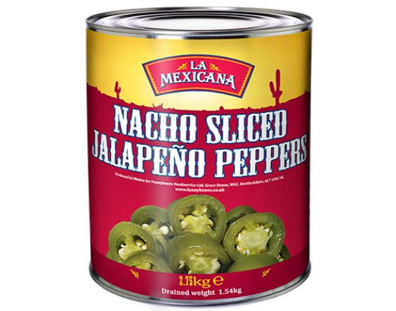 Nacho Sliced Green Jalapenos